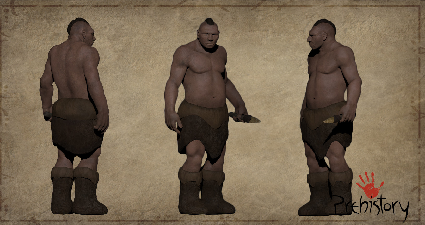 Rayco gonzalez neandertal 3dprint versionconcept