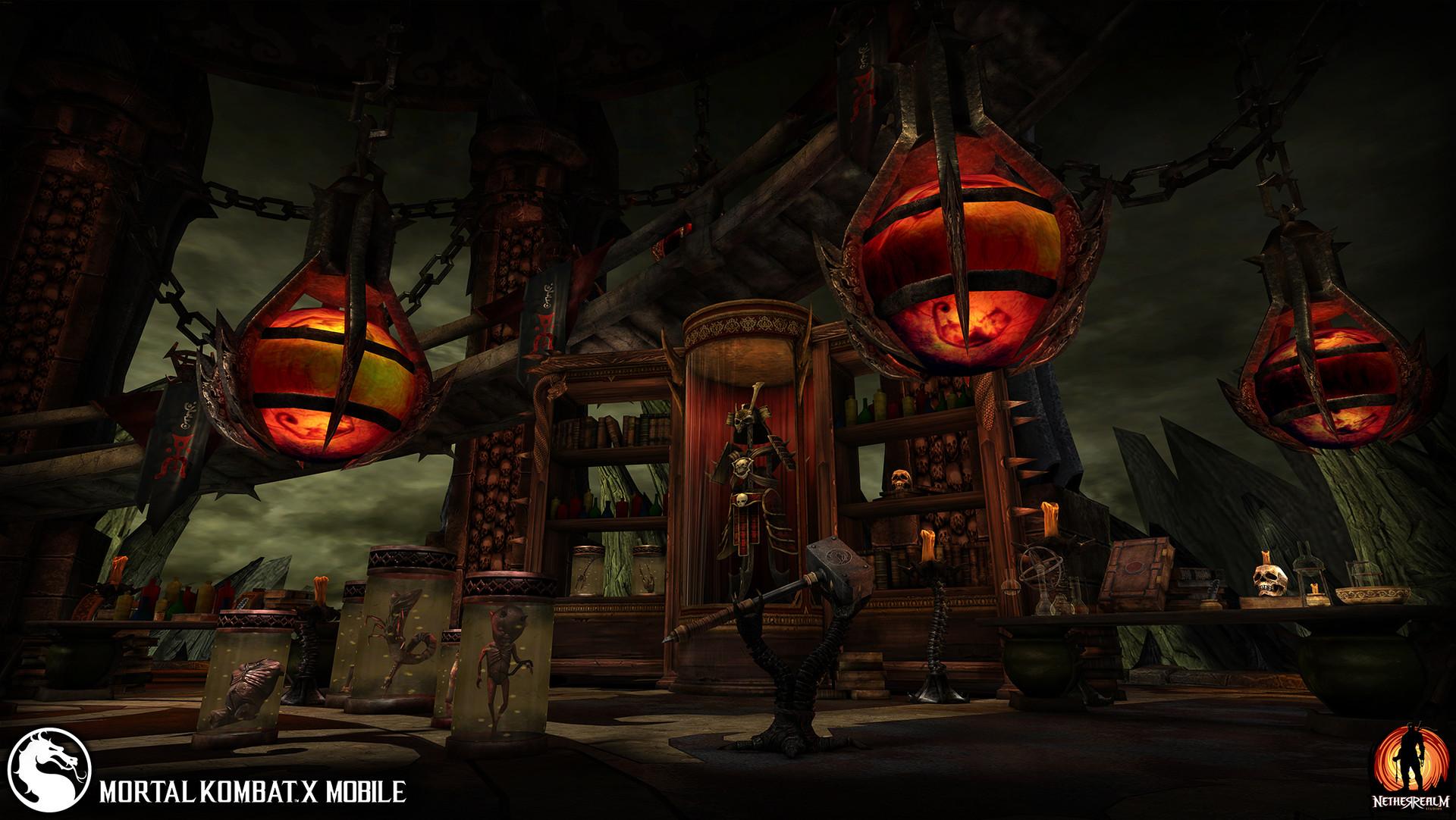 ArtStation - Mortal Kombat X Mobile - Professional, Frank