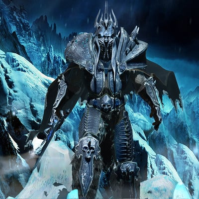 Aris draggonis lich king 3d model by dragonisaris d8nuvqi