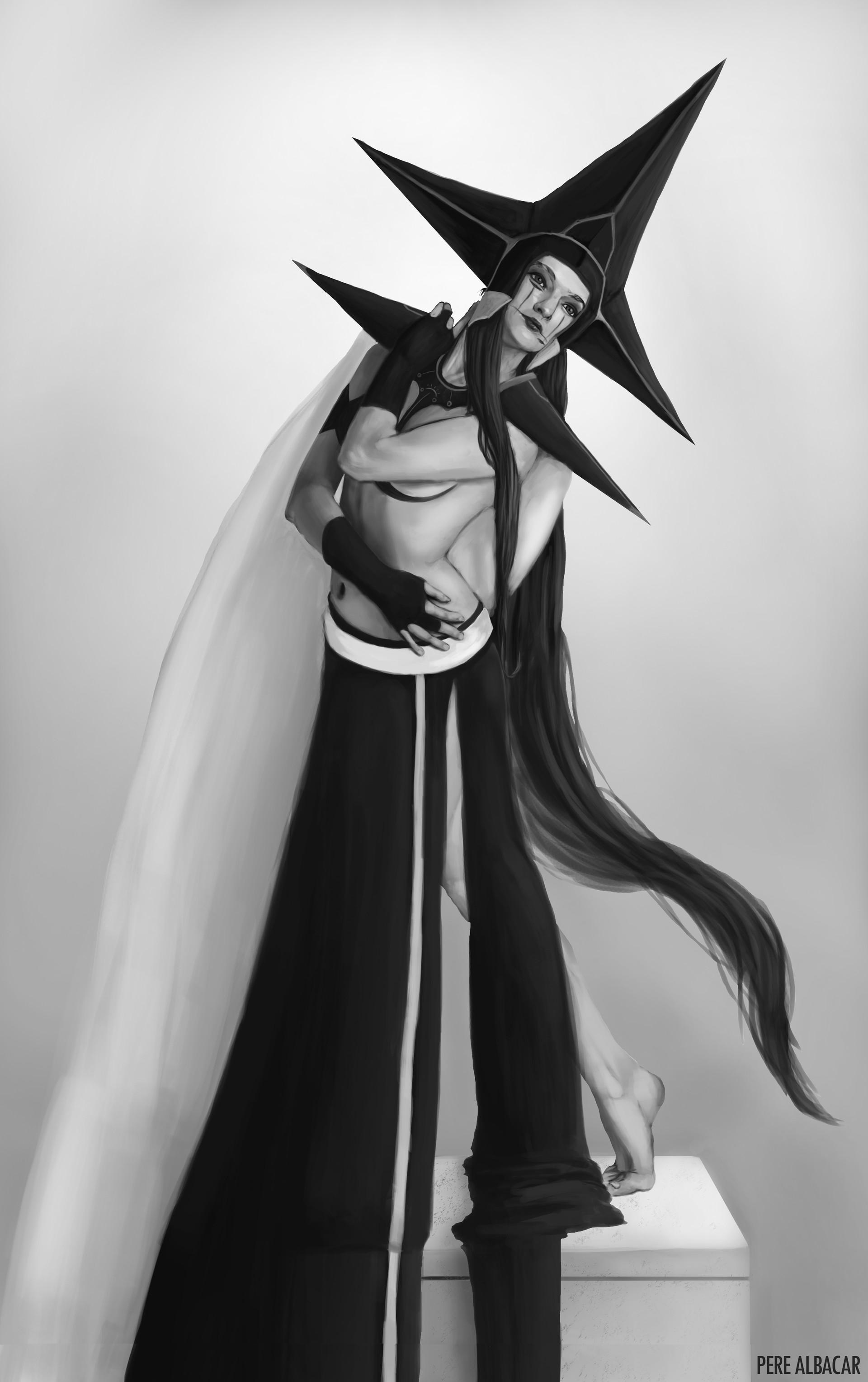 Pere albacar roda dark queen