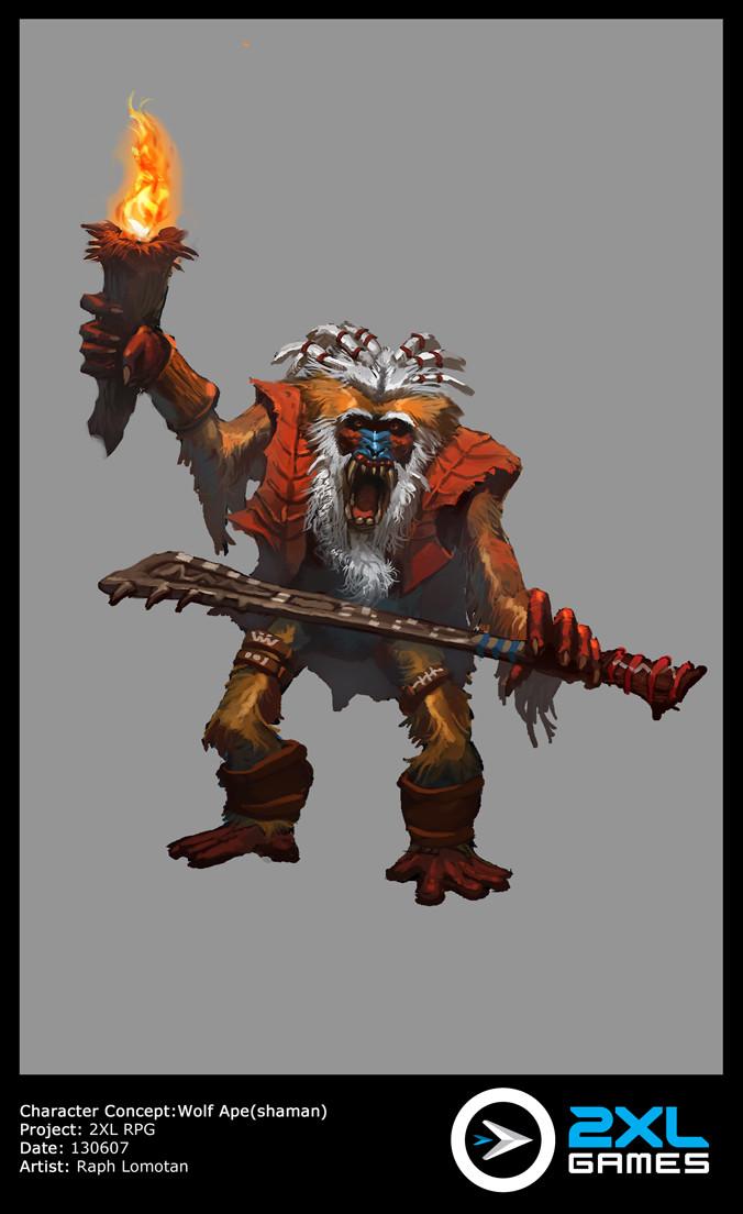 Raph lomotan wolfapeshaman 130607