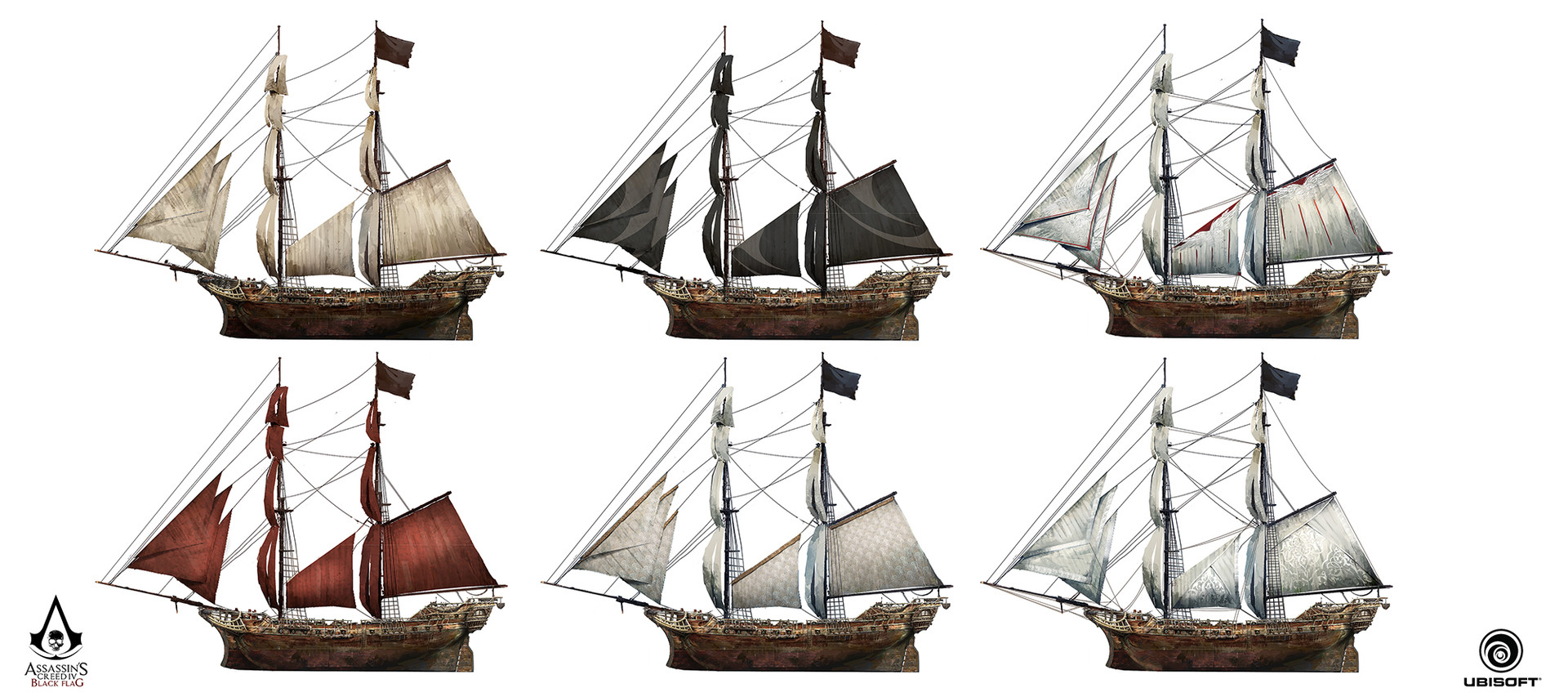 Artstation Assassin S Creed Iv Black Flag Jackdaw And The