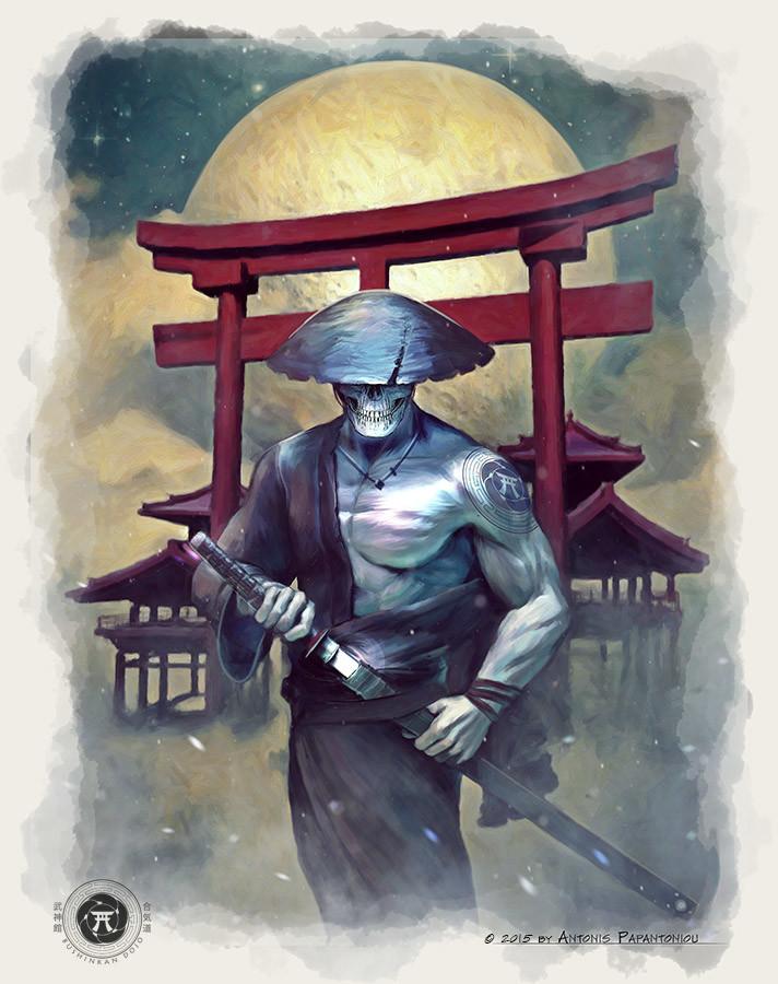 Antonis papantoniou samurai spirit