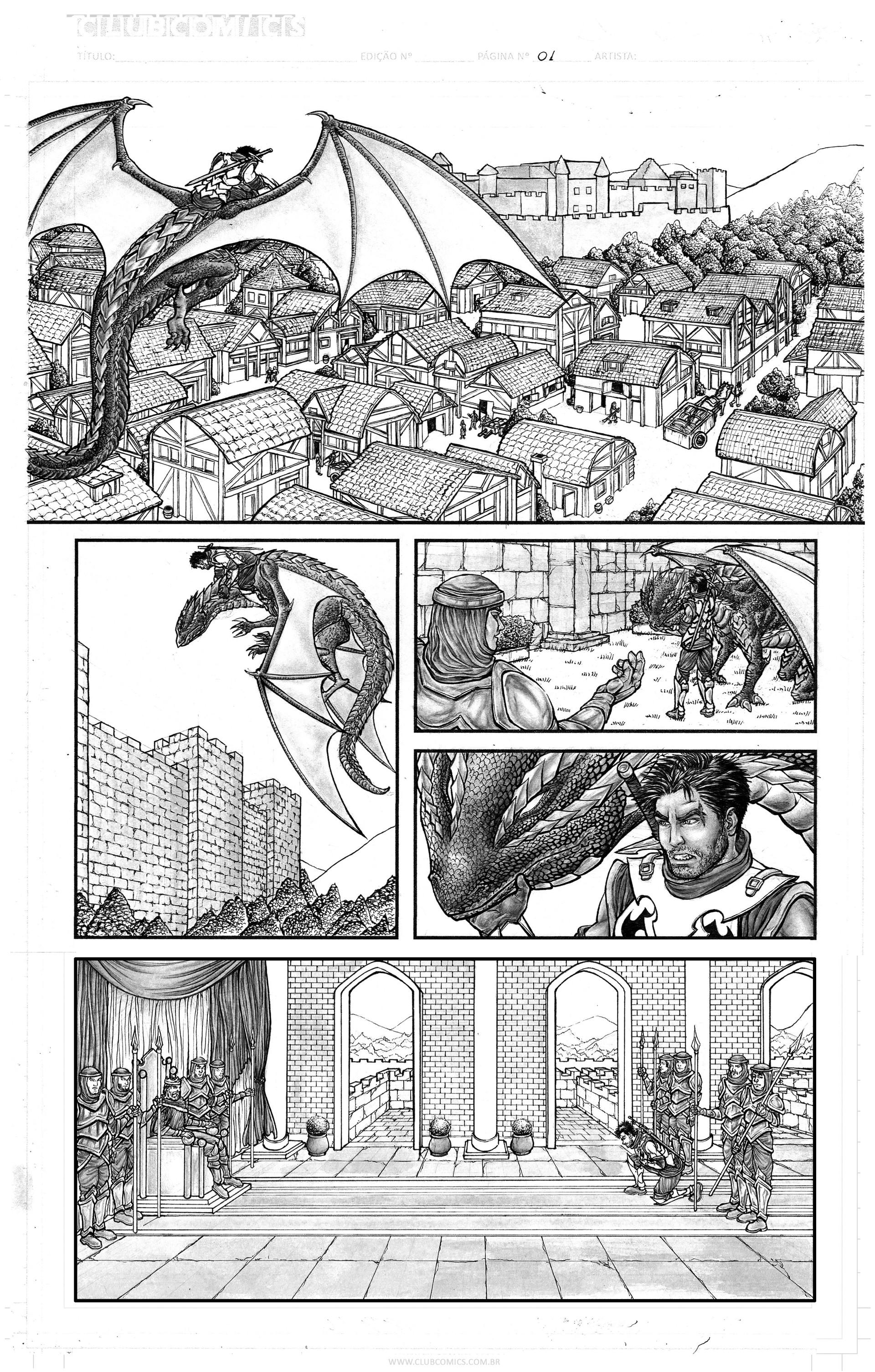 Gustavo melo aventuras e dragoes pagina 01