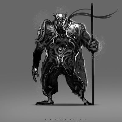 Benedick bana final warrior guardian monkey2 lores