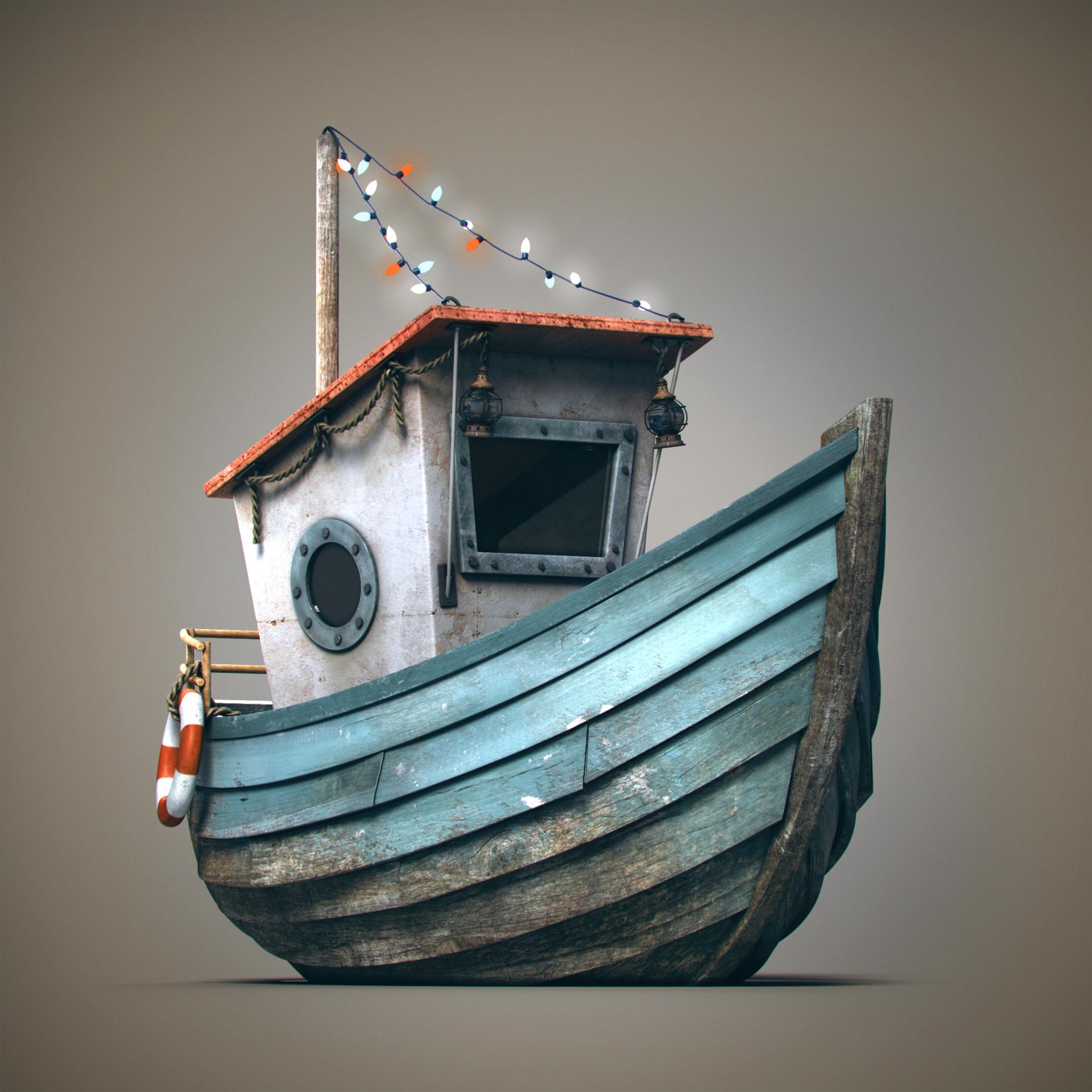 Silvia cortellino boat