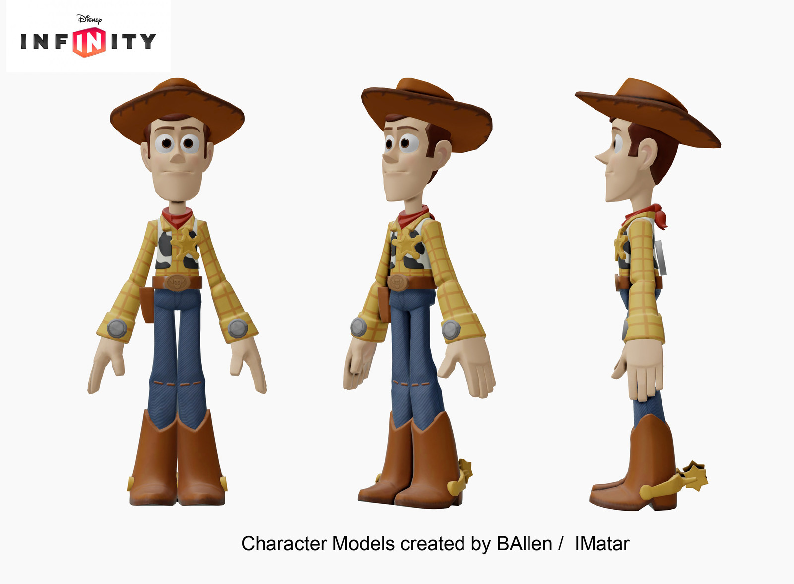 character model by BAllen  / IMatar