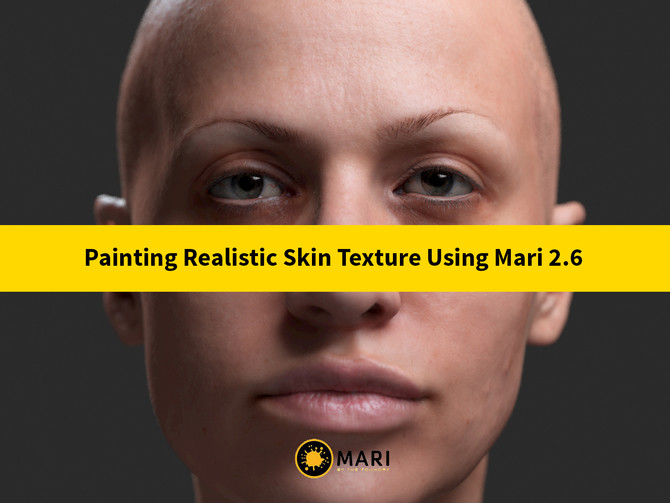 ArtStation Painting a Realistic Skin Texture Using Mari 26 By