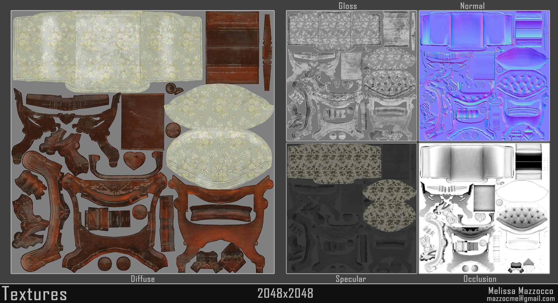 Melissa mazzocco victorian boudoir chair maps