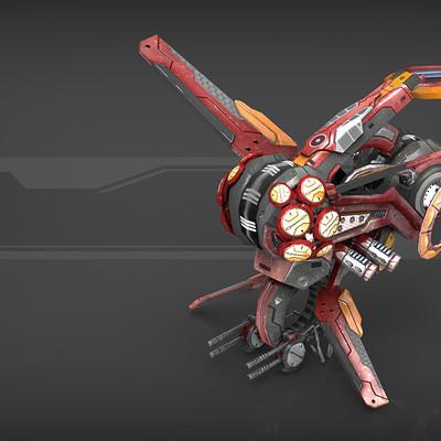 Igor puskaric drone v3 red manga presentation