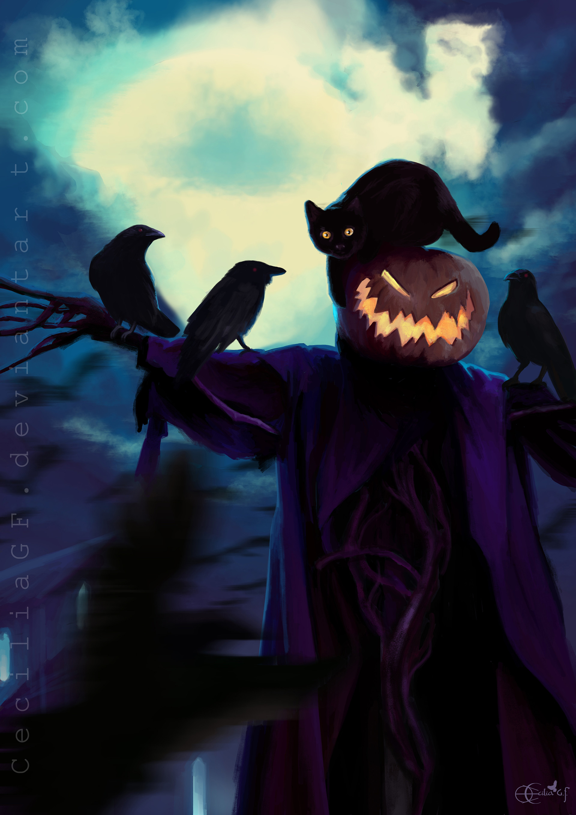 Cecilia g f halloween2