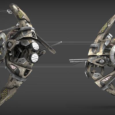 Igor puskaric drone v1 scifi presentation