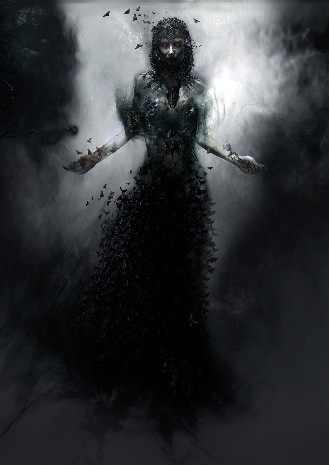early concept of witch , done for The Last Witch Hunter