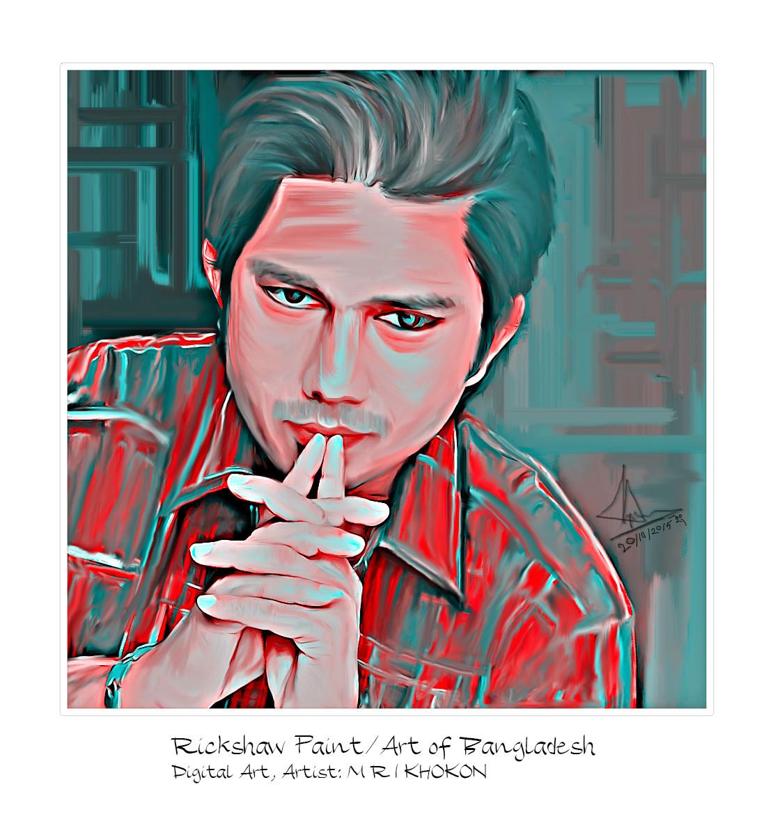 ArtStation - Rickshaw Painting, M R I Khokon
