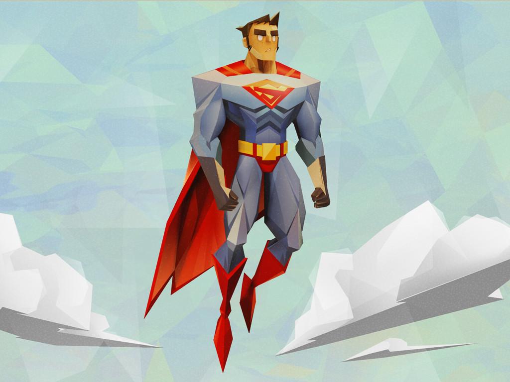 3D Origami - Marvel superheroes. Thor, Superman, Batman, Captain ... | 768x1024