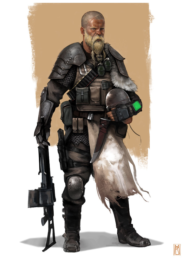 Post-Apocalyptic Viking