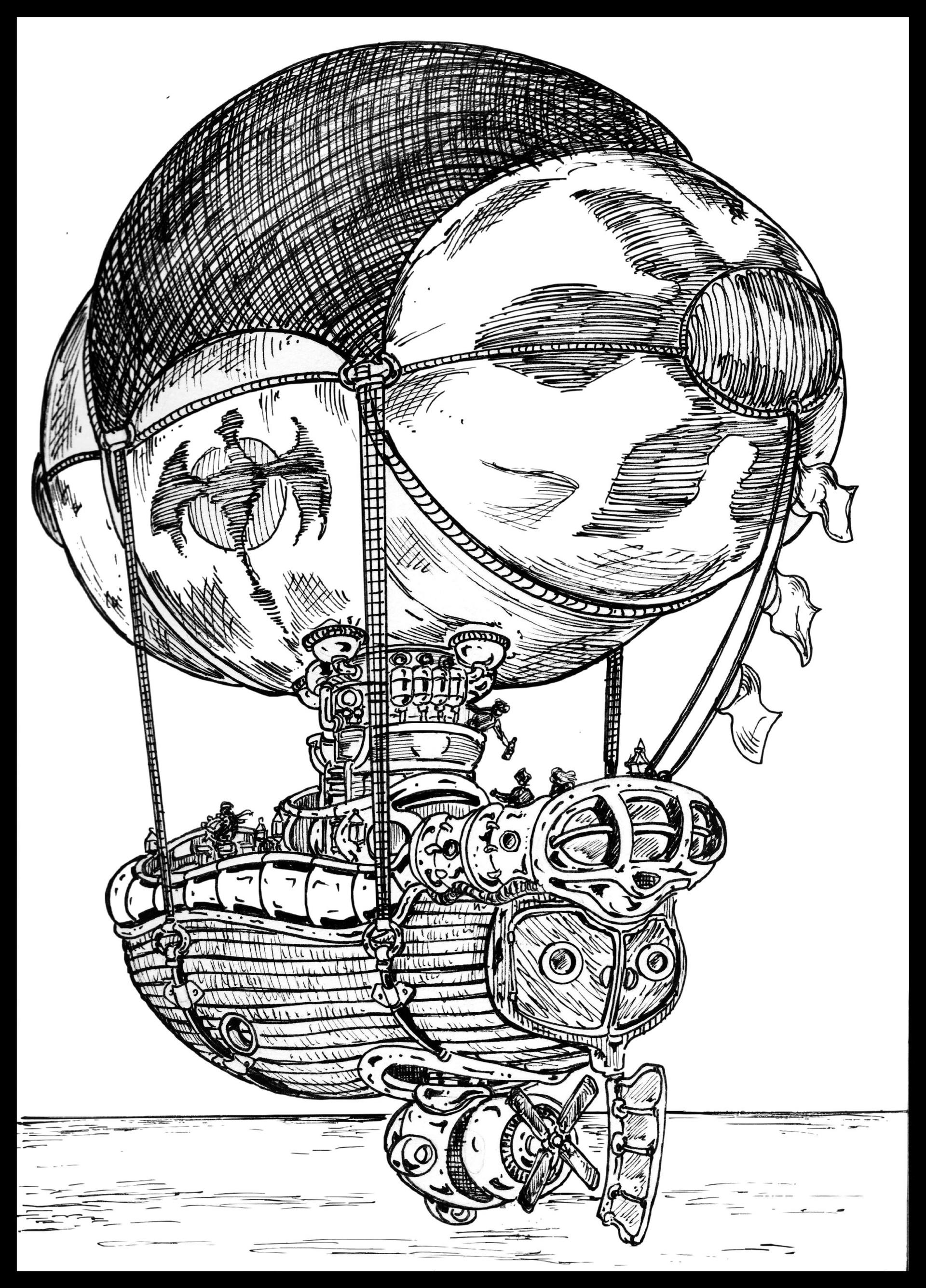 Vincent bryant airship 04