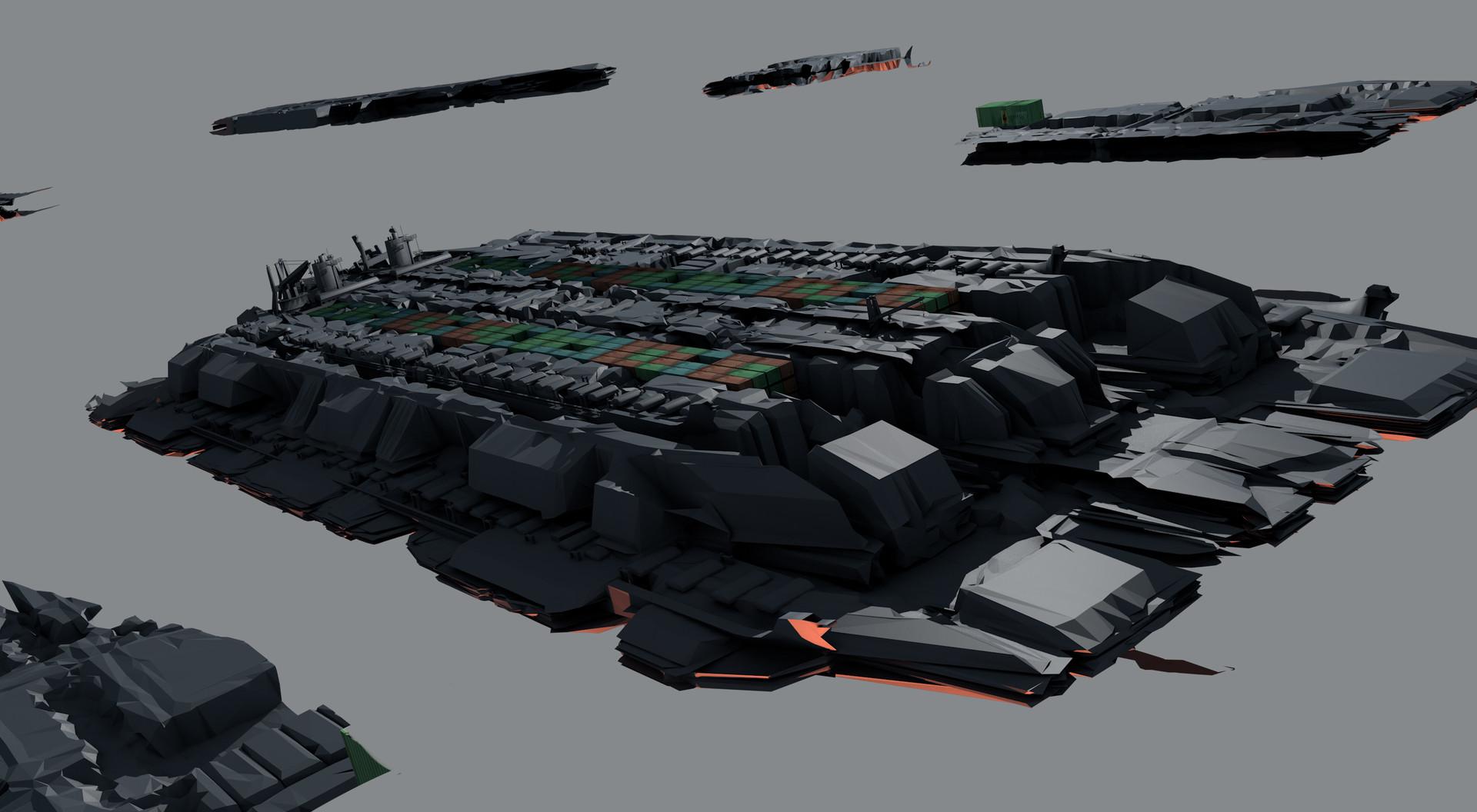 Leon tukker broken freightersketch