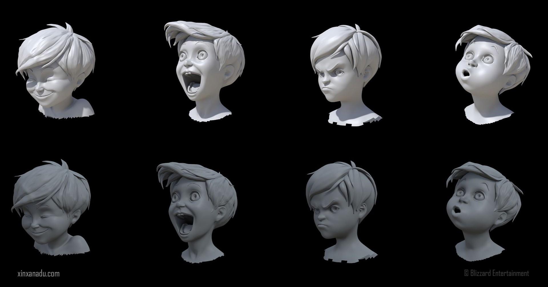 Xin xanadu timmy expression study