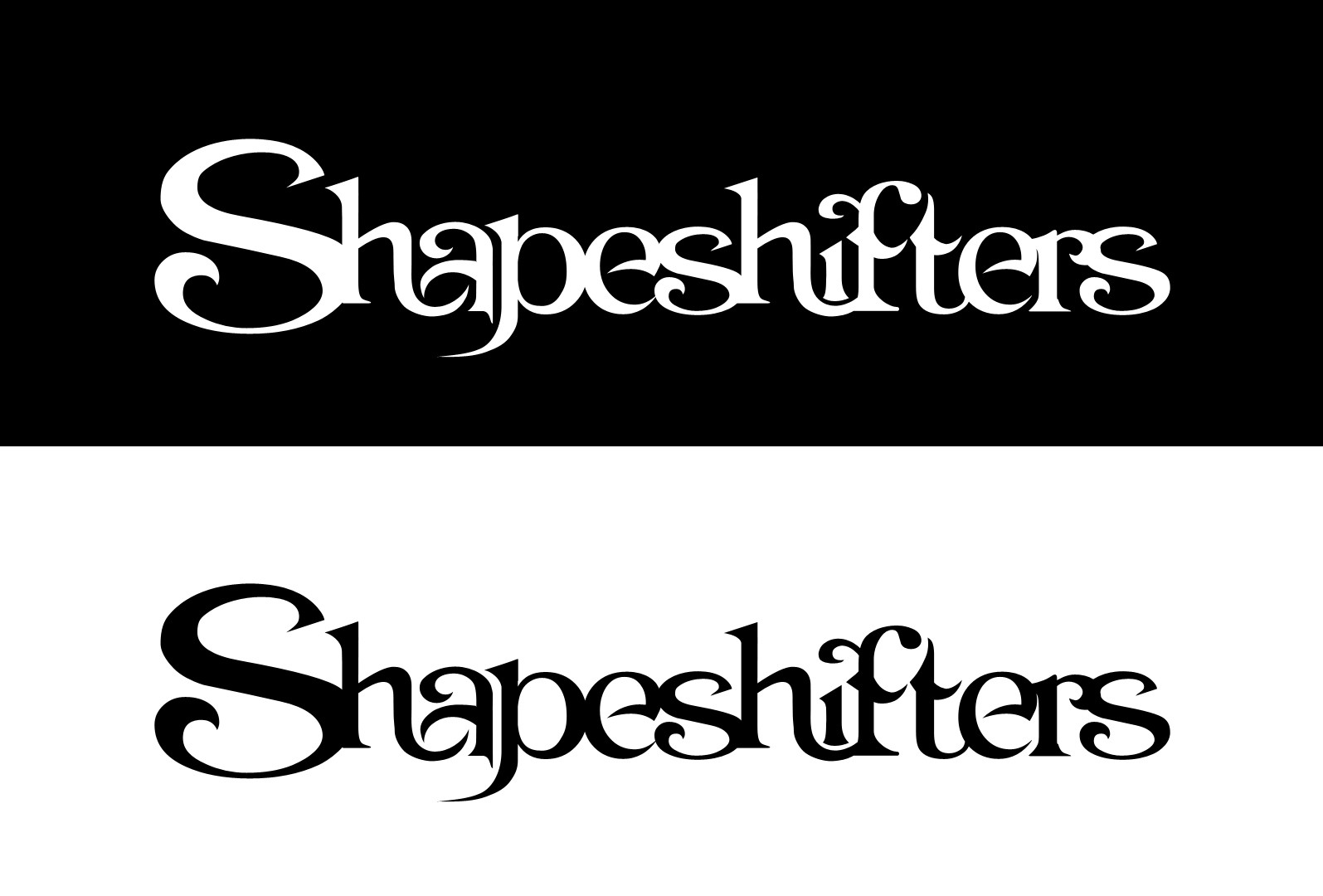 Jeff christy logotype shapeshifters simple