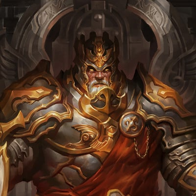 Hua lu art for kings and heroes