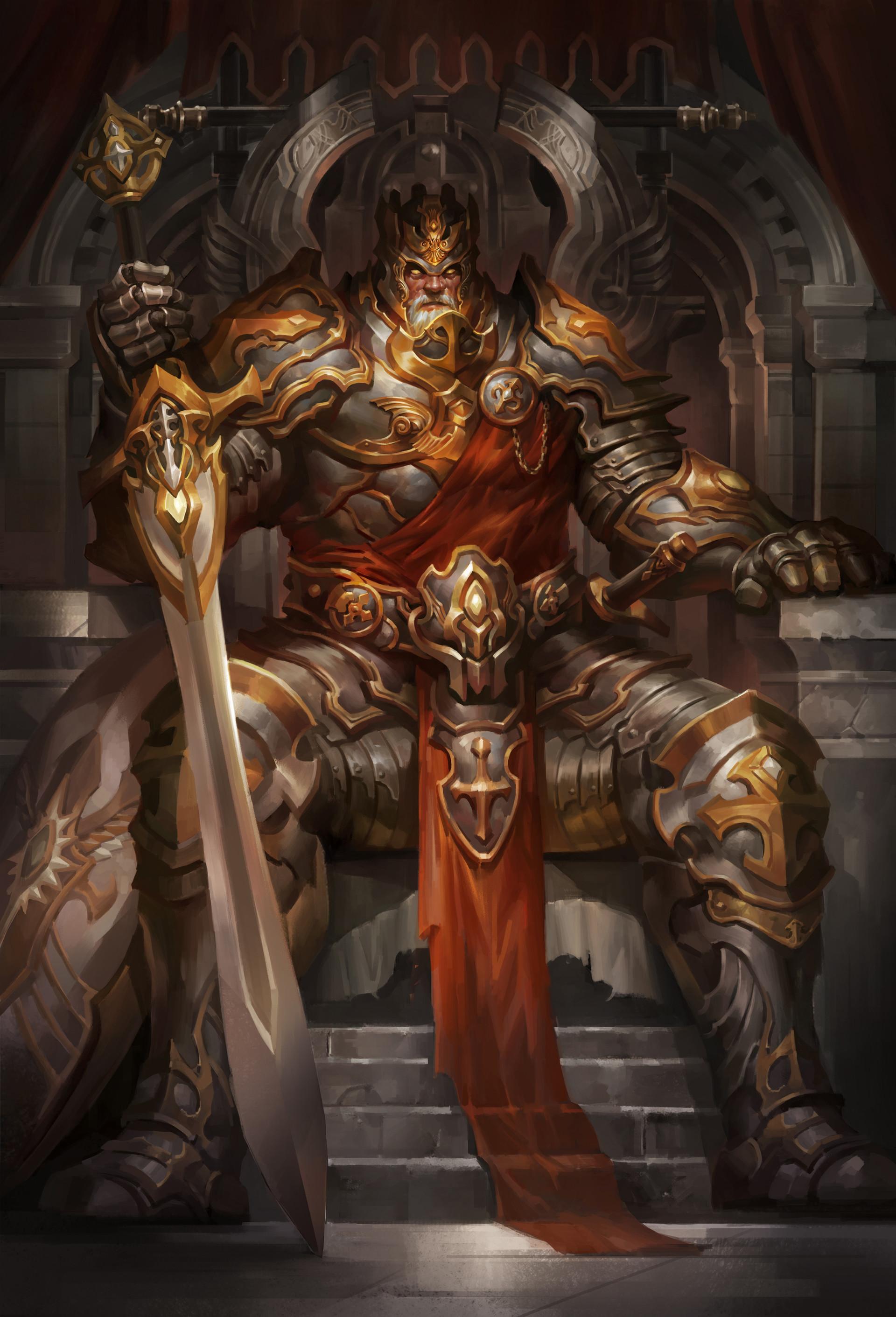 Hua lu art for kings and heroes