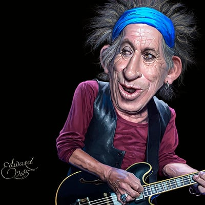 Edward halmurzaev keith richards