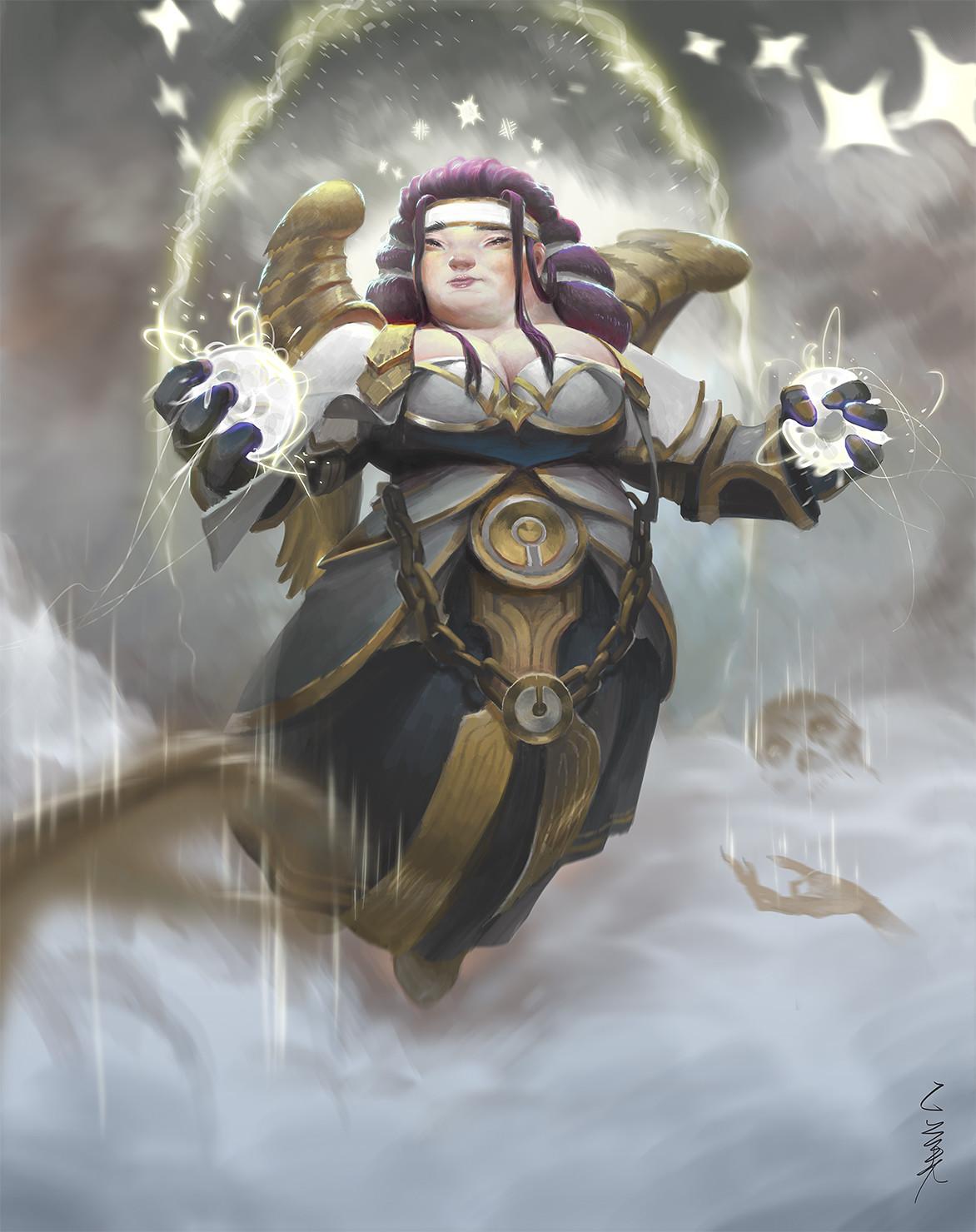 Artstation Wow T5 Priest Xi Zhang