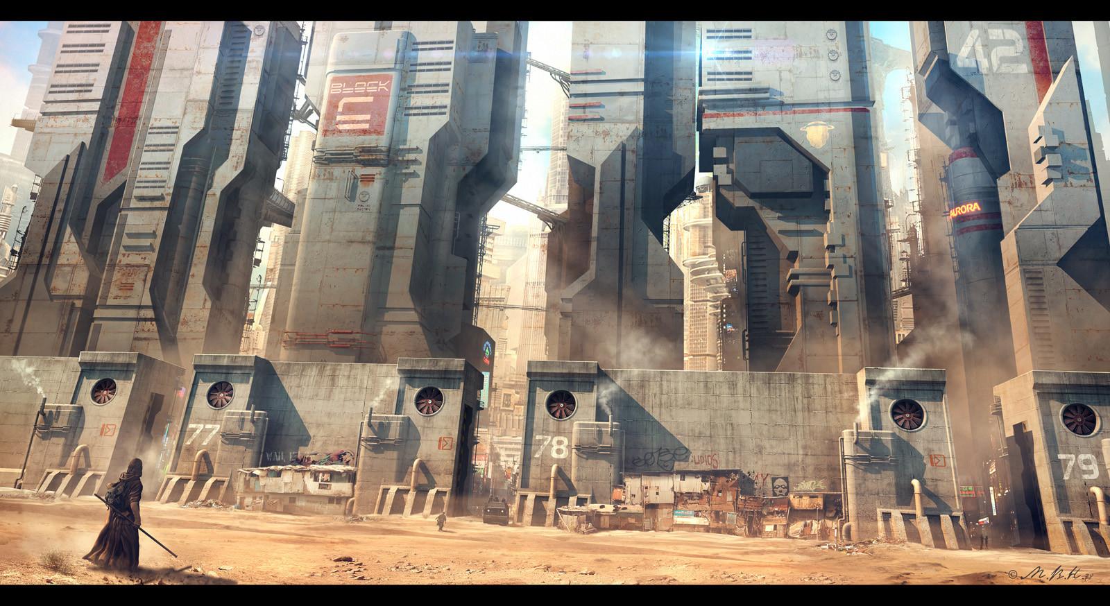 rusty city