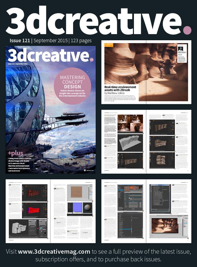 revista 3dcreative
