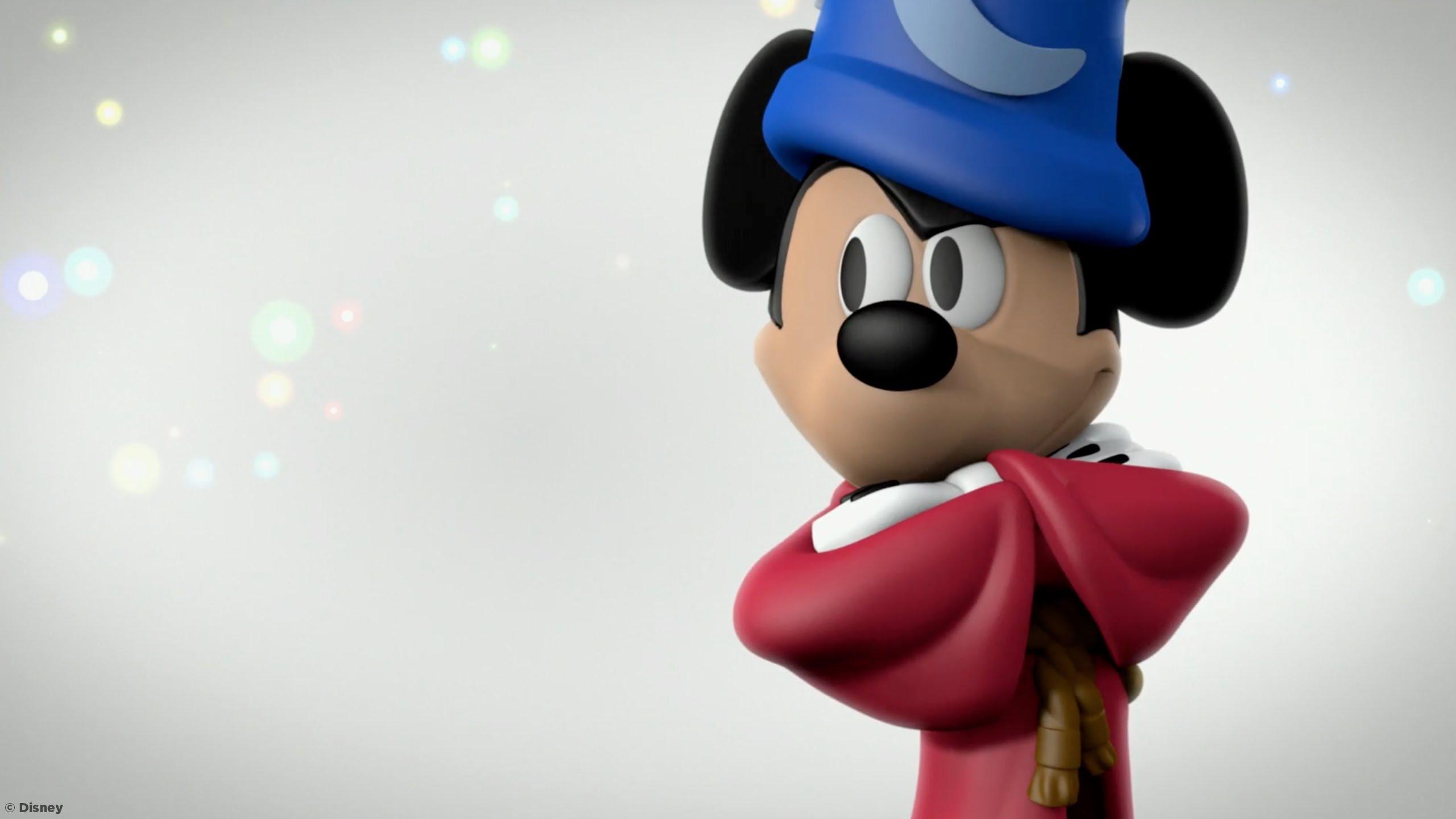 Sorcerer Mickey Marketing Shot CU