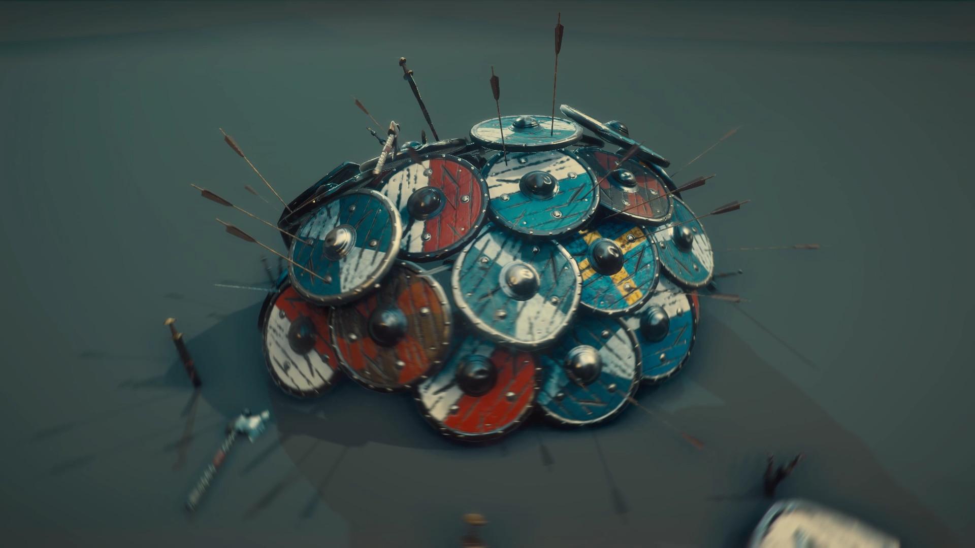 Stylized Viking Armory
