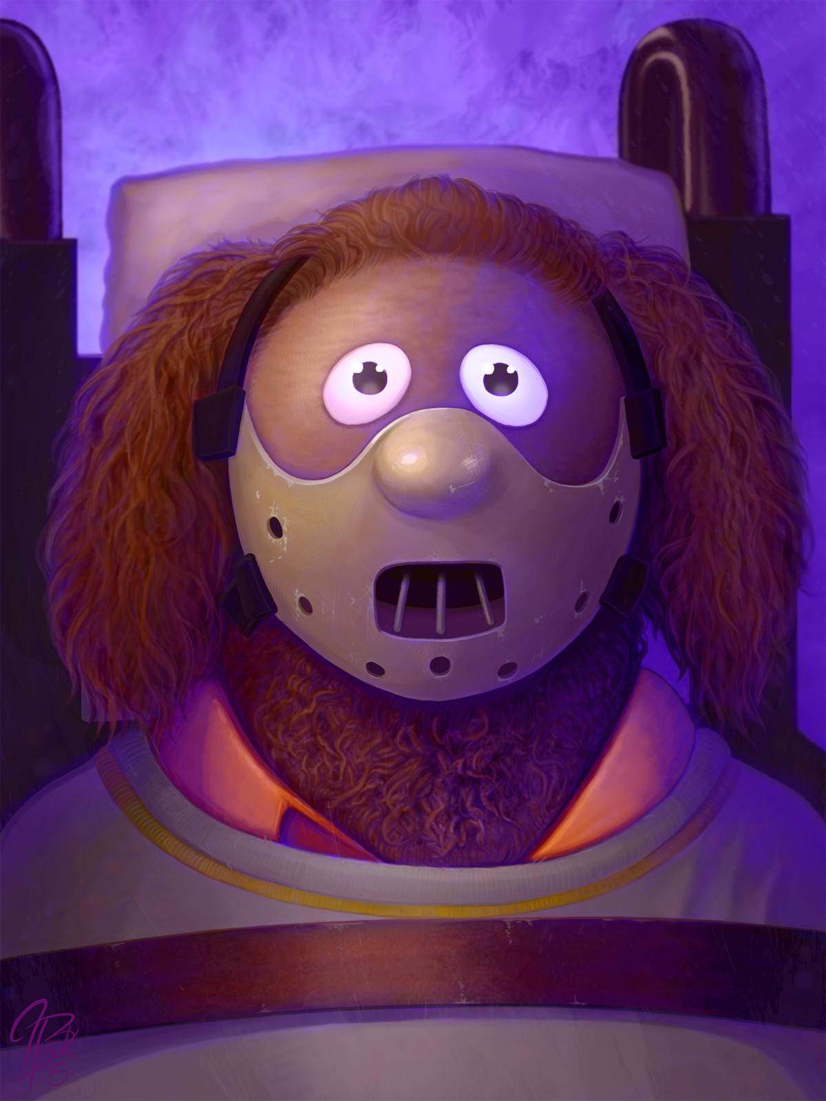 Rowlf as Hannibal Lecter