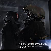 Le Industrial artstation workpiece m4 miv4t
