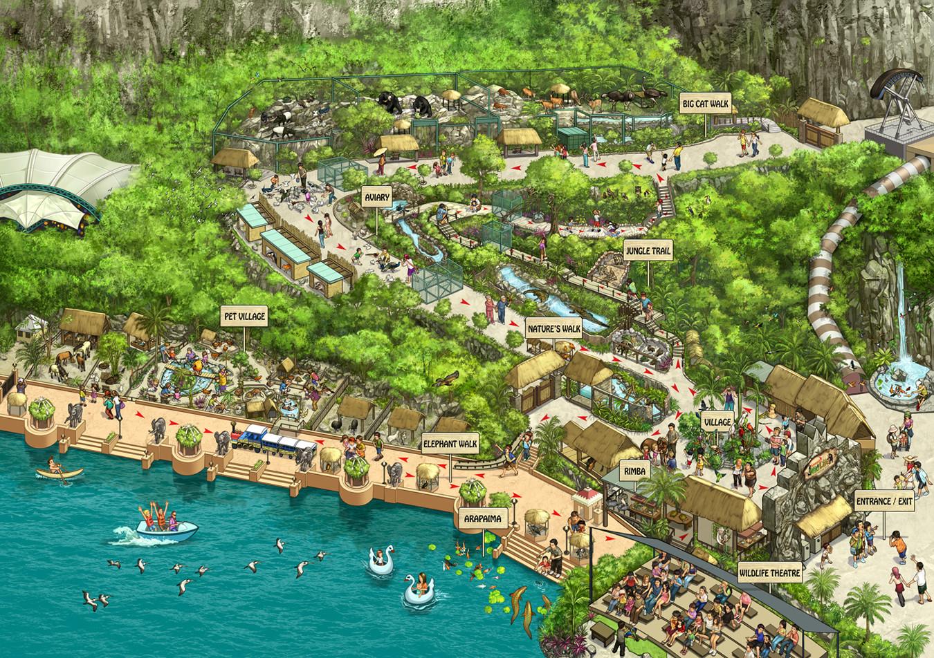 Kinsun loh sunway zoo map