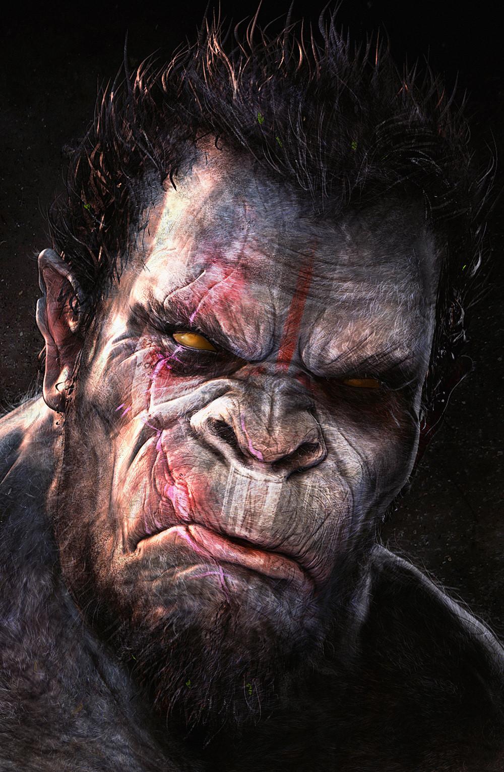 Adnan ali gorilla6 face