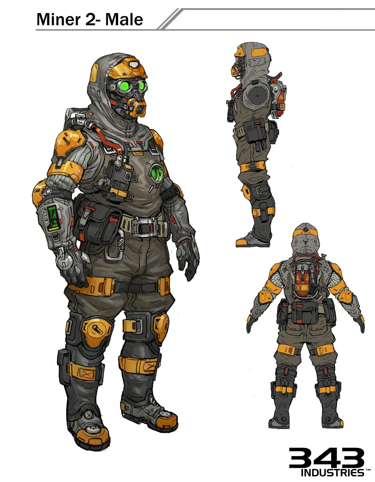 Halo 5- Meridian Miner 2