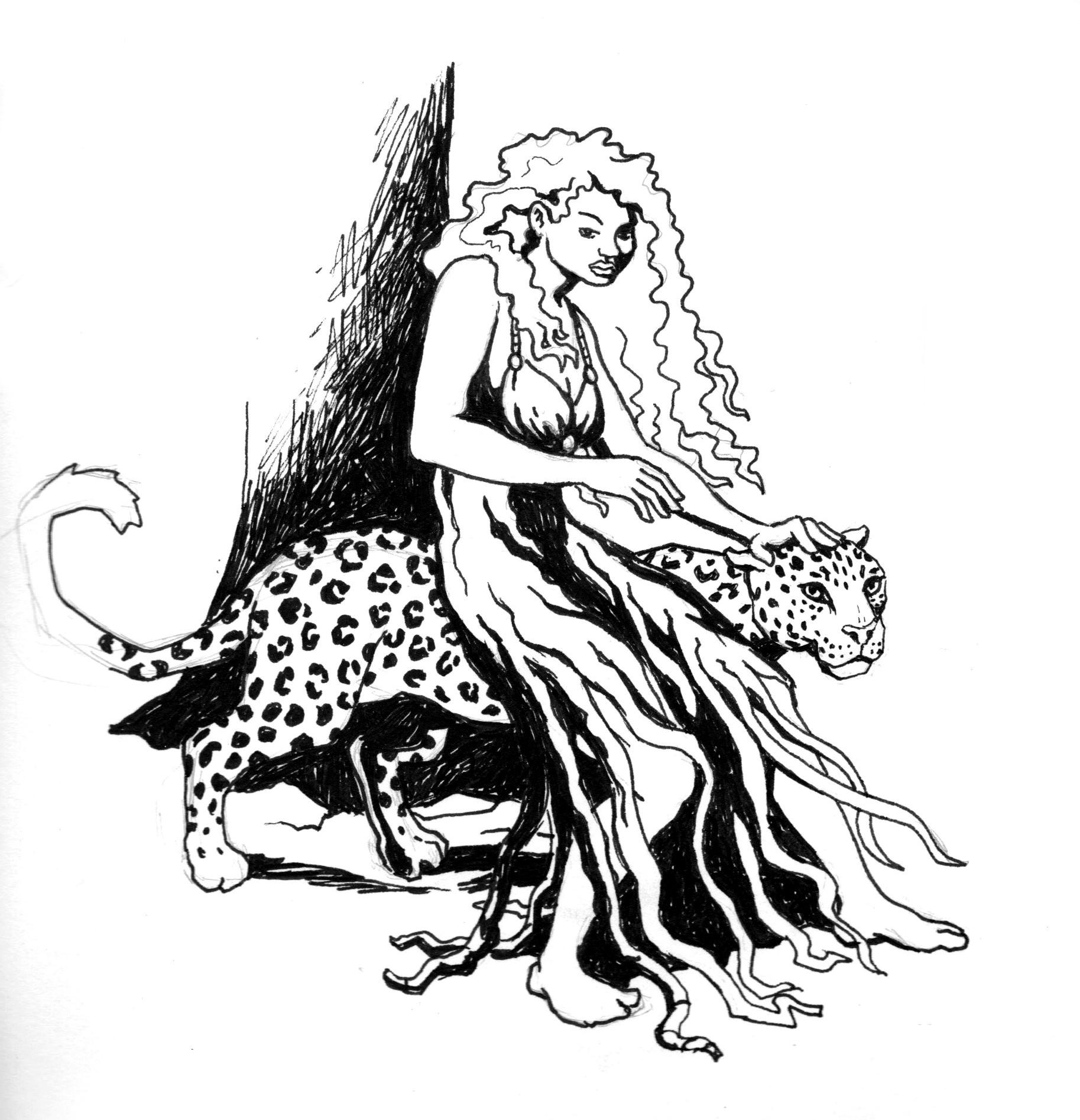 Patrick weck fantomah sketch 8