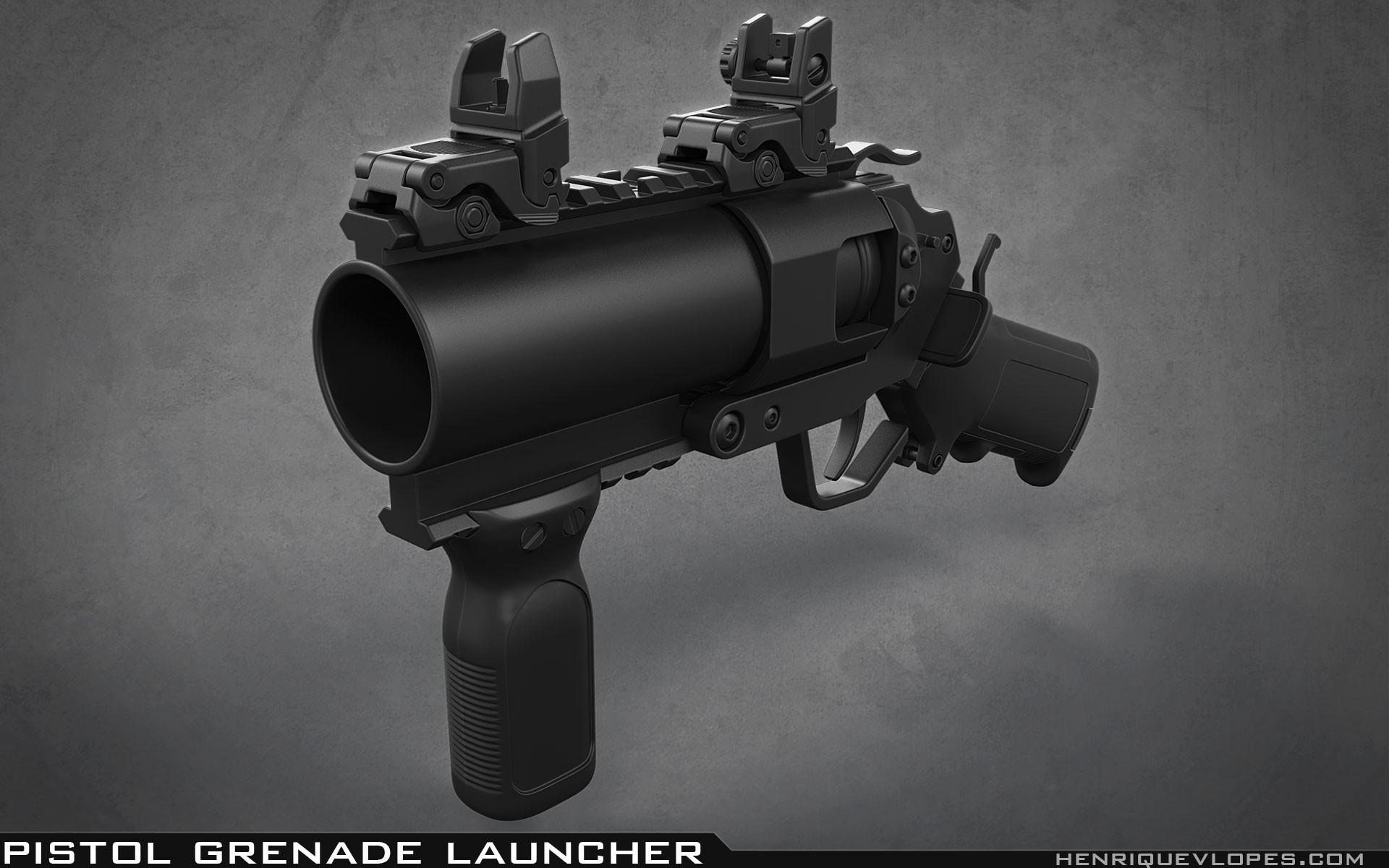 Henrique lopes pistol grenade launcher high 02