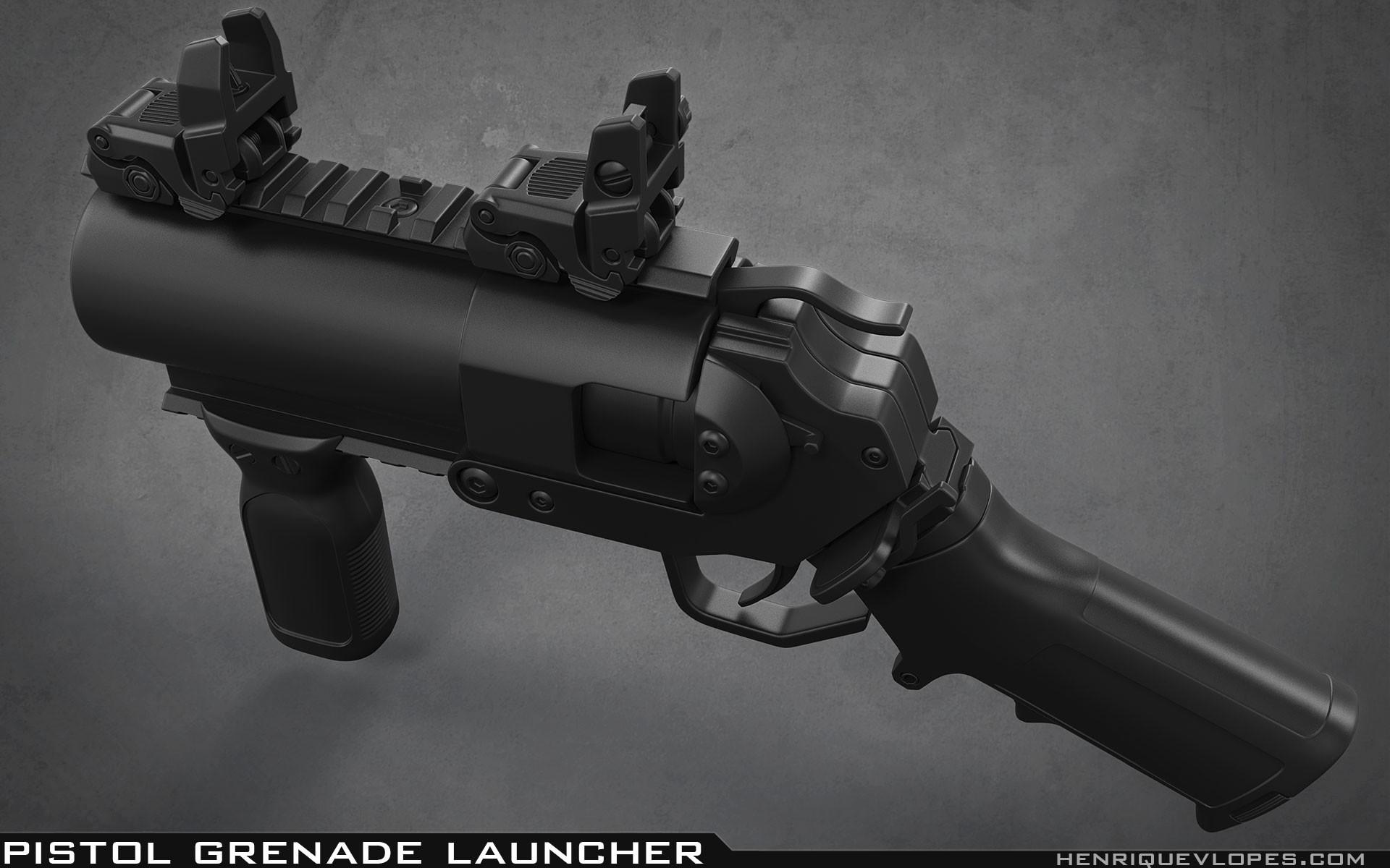 Henrique lopes pistol grenade launcher high 04