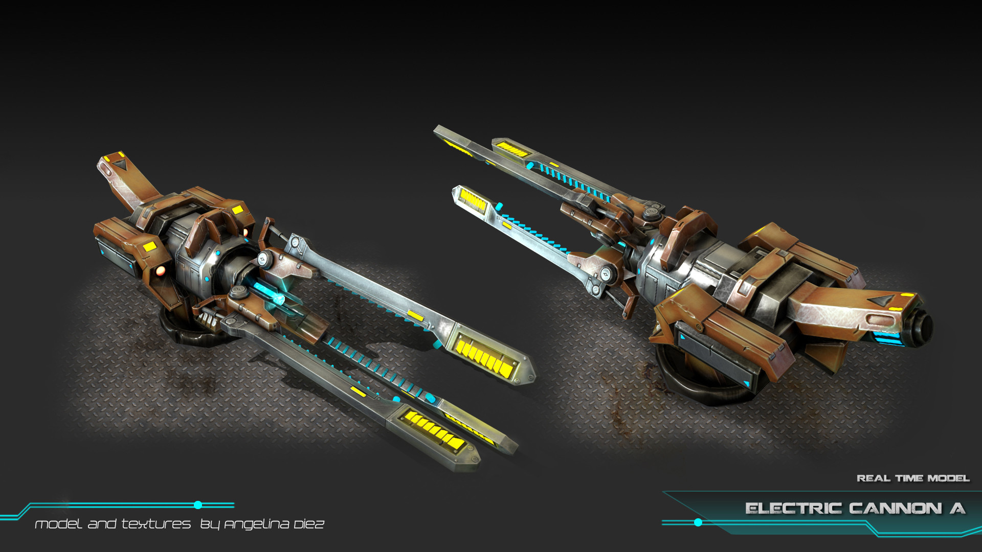 Angelina diez electriccannon a ingame