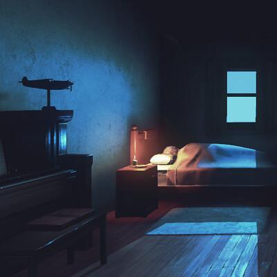 Philip hogg bedroom