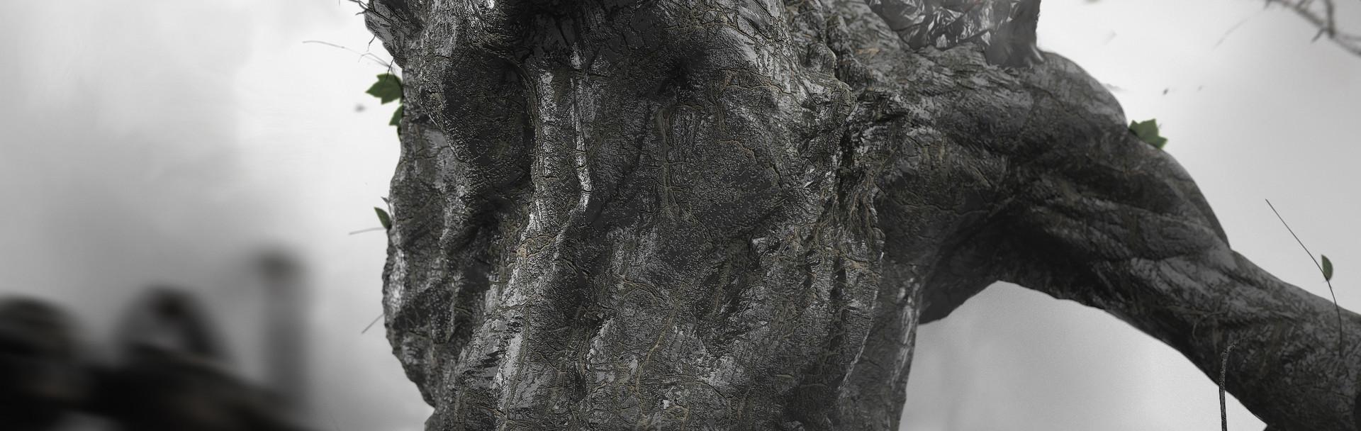 Andrea chiampo mud monster birth a detail