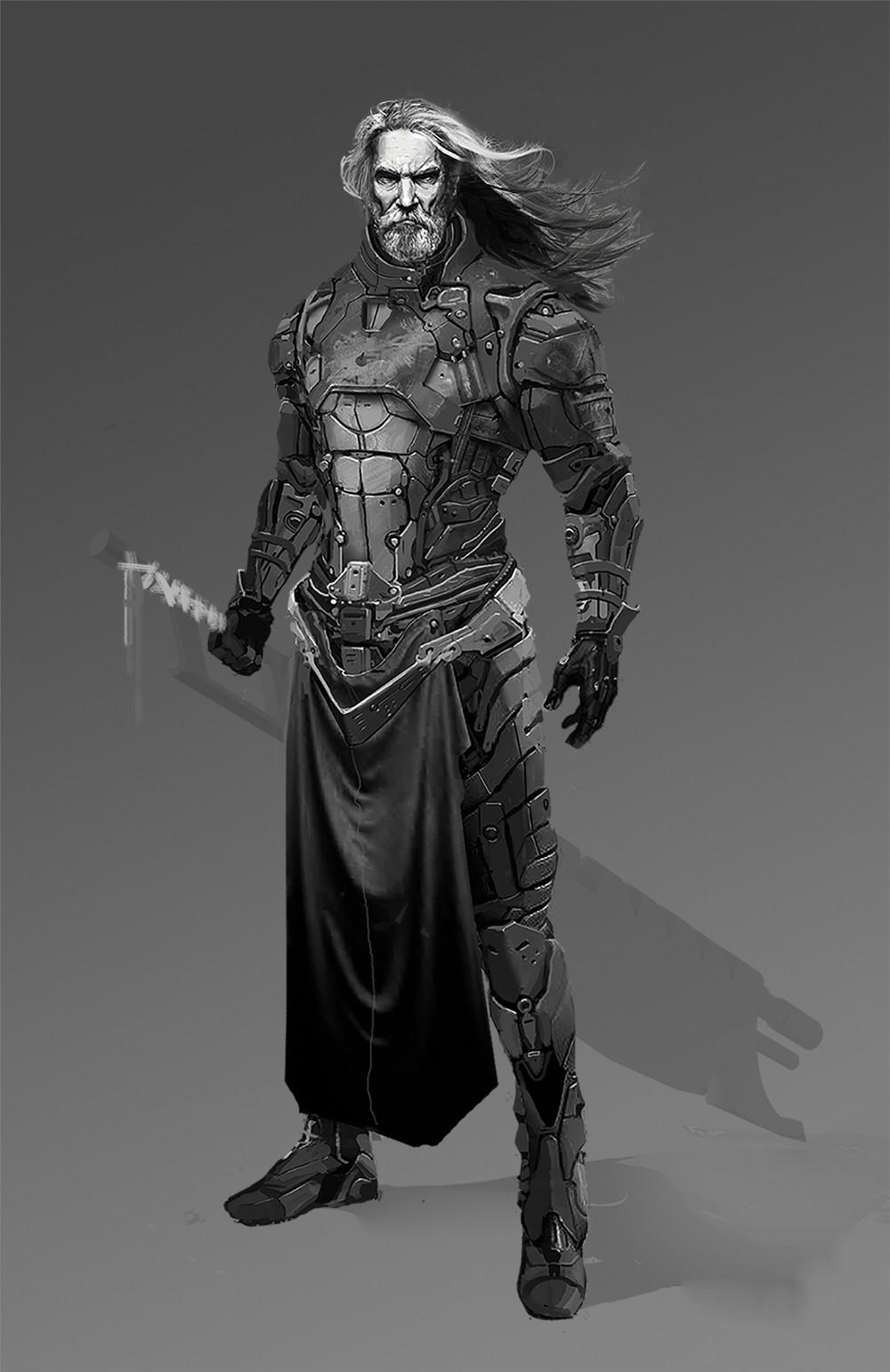 King warrior values sketch