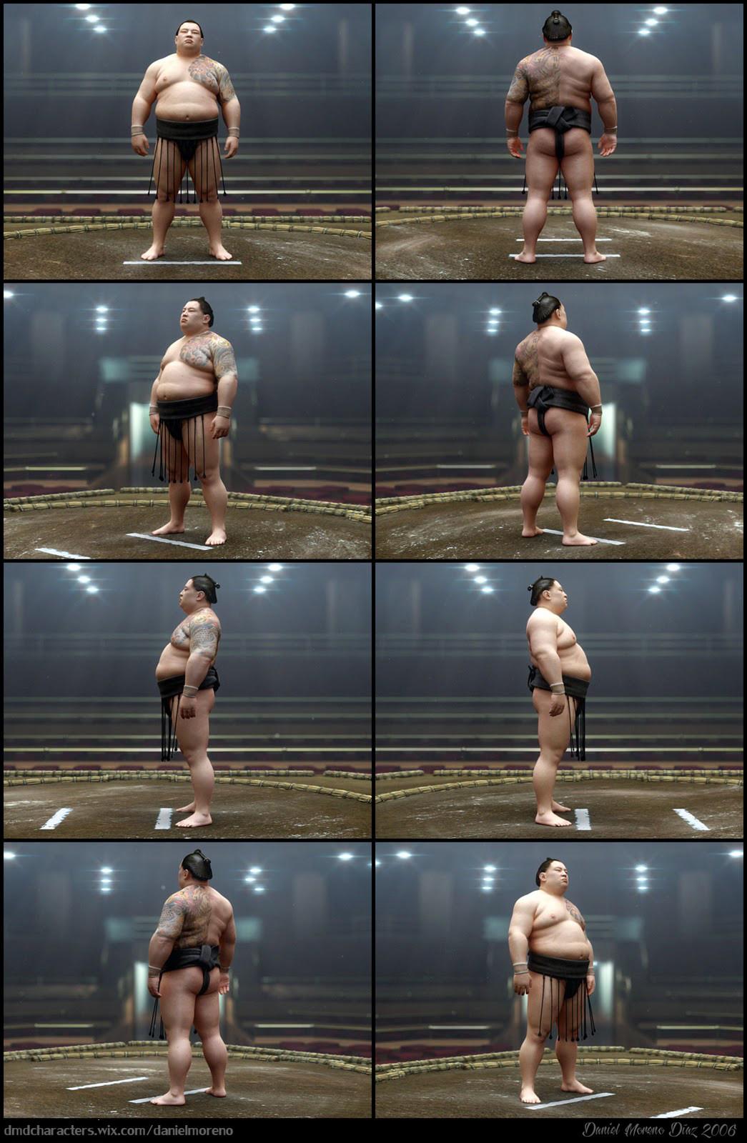Daniel moreno diaz sumo frames
