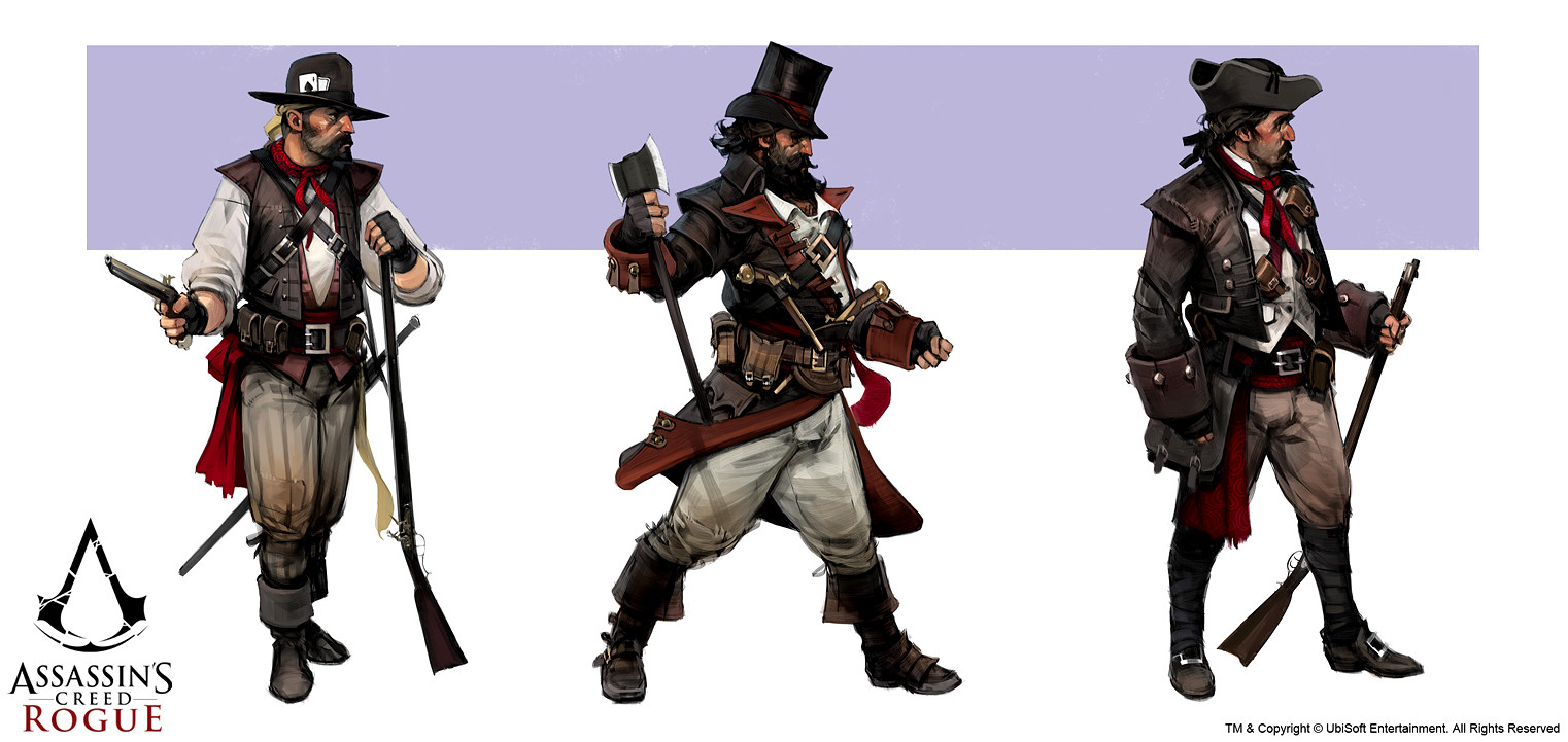 Assassin's Creed: Rogue - Bandits concepts