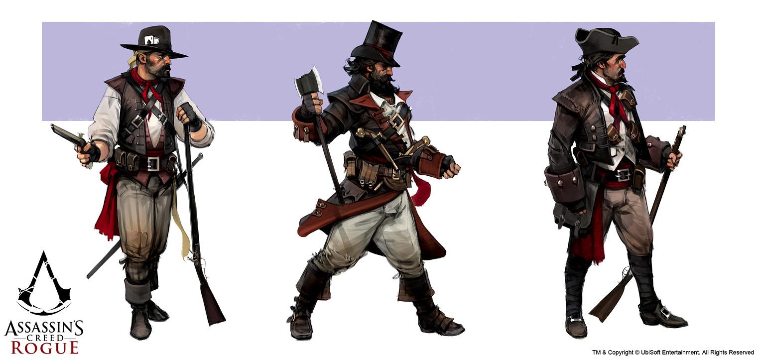 Assassin's Creed: Rogue - Bandits concepts
