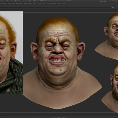 3D Sculpt, based on an original work from Evan Campbell