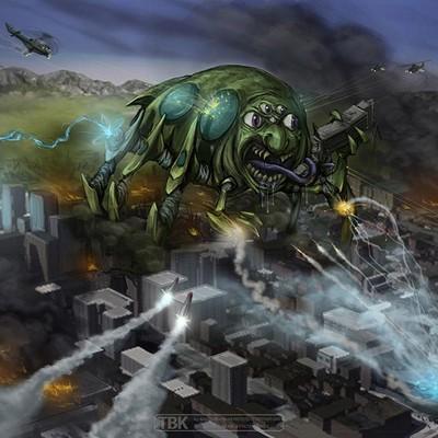 Todd kale 24 monster