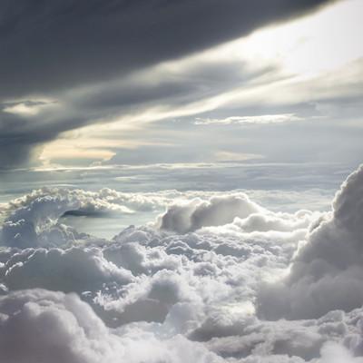 Martin jario martinjario clouds matte painting